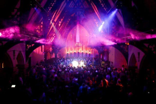 church rave