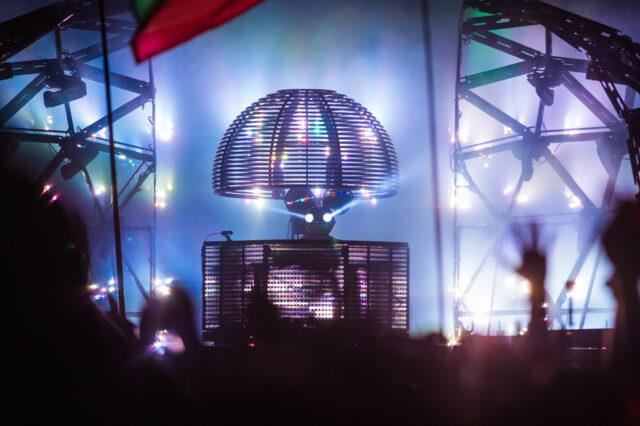 deadmau5 Glastonbury 2015