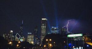 Lightning at Lolla