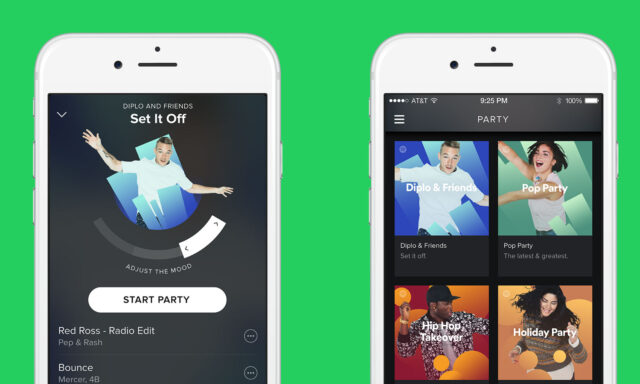 Spotify Party App