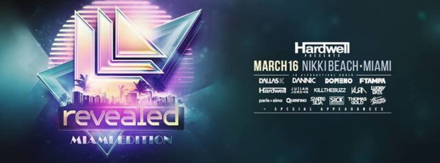 Hardwell presents Revealed Miami 2016