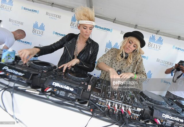 Nervo Playing SiriusXM back in 2012