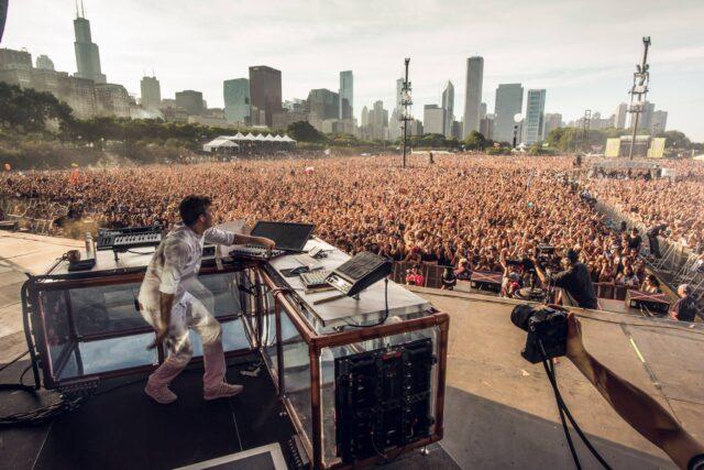 Flume Lollapalooza 2016 live set