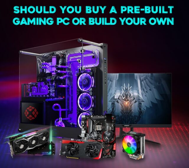 Should You Buy A Pre Built Gaming Pc Or Build Your Own Edm Chicago